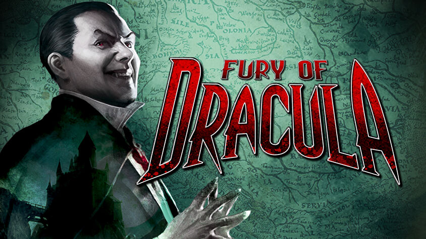 Fury of Dracula board game artwork