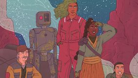 Image for Galactic 2E is a Star Wars inspired tabletop game that puts the focus on relationships