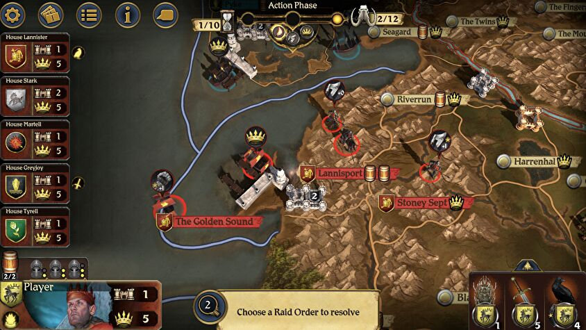 A Game of Thrones: The Board Game - Digital Edition mobile screenshot