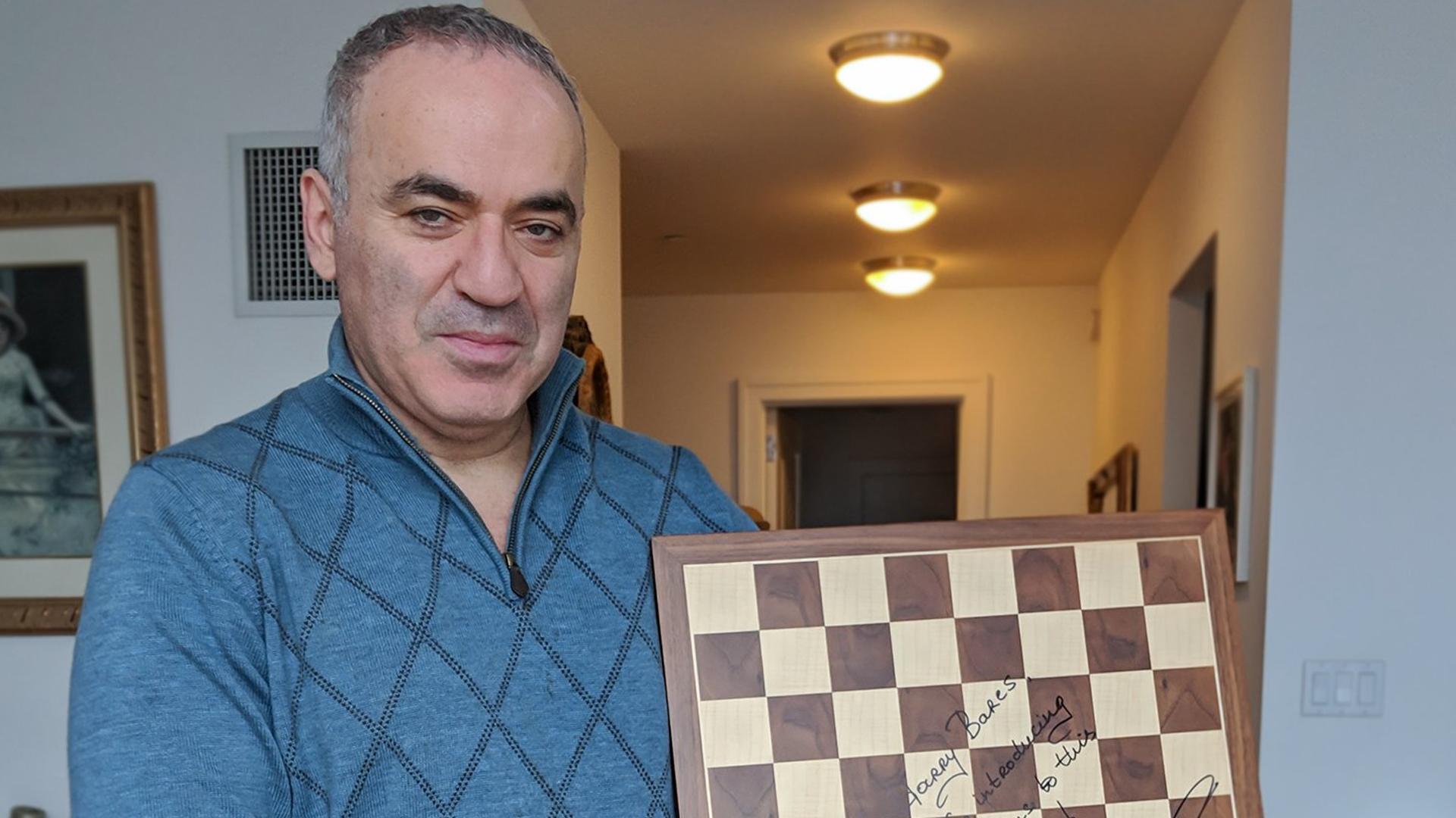 Garry Kasparov Twitter Image