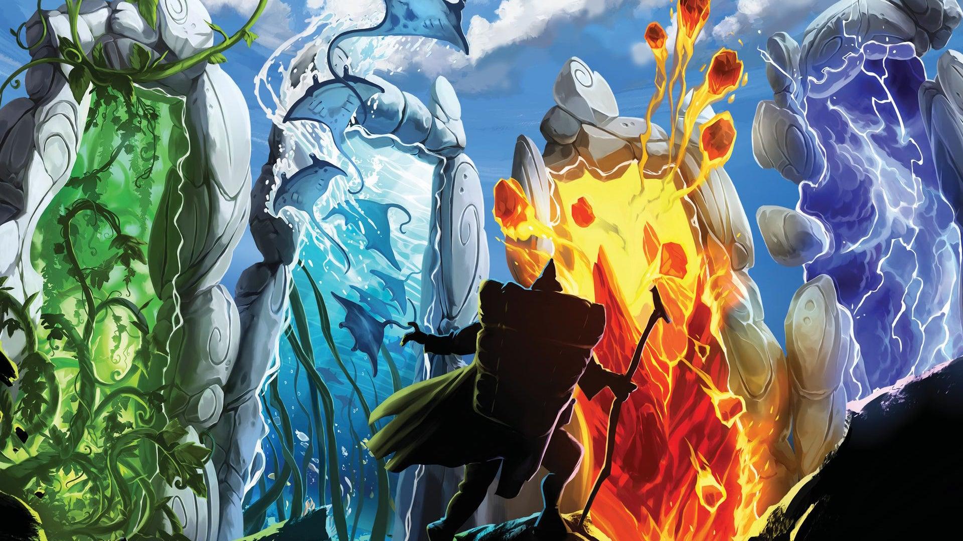 Gates of Mara board game artwork