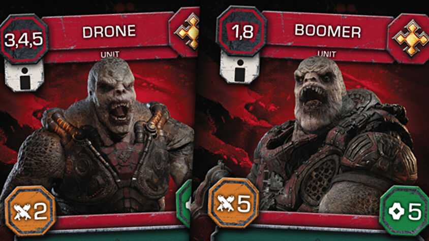 Gears of War: The Card Game trading card game Locust featured image