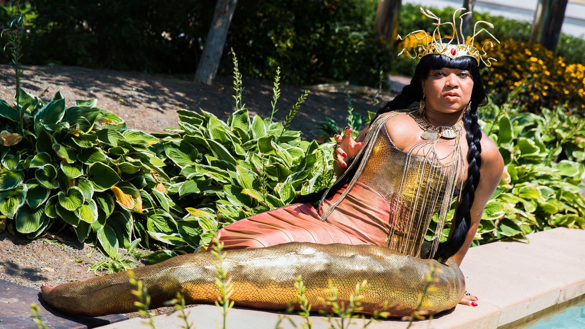 GeishaVi Cleopatra Gorgon Queen cosplay