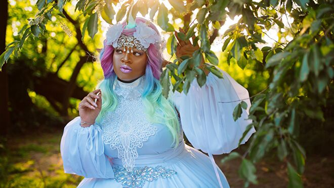 GeishaVi Unicorn Sorceress cosplay