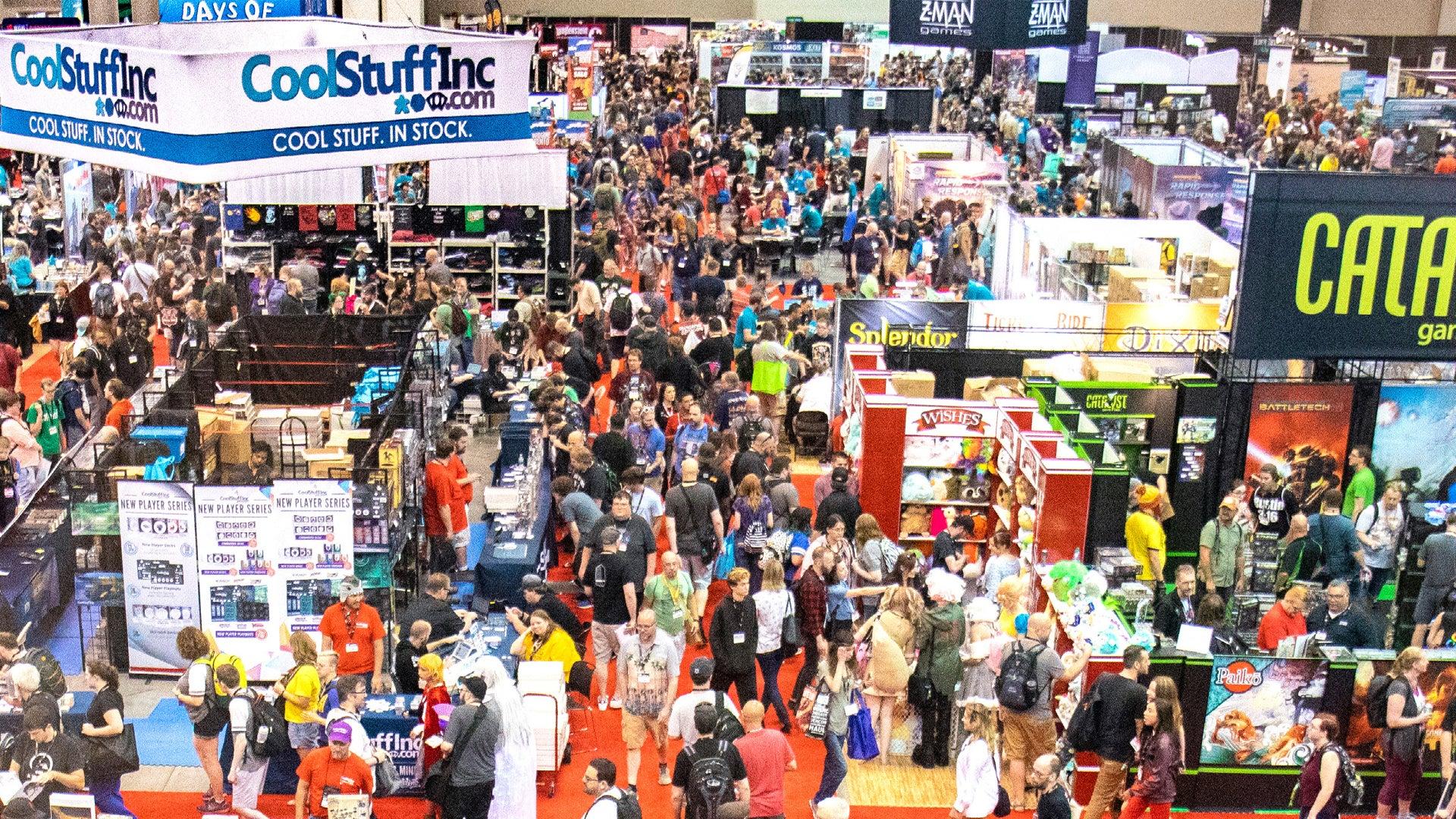 Gen Con 2019 show floor