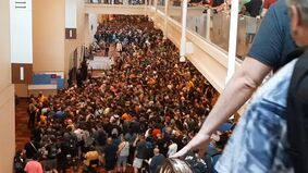 Image for Gen Con's day-one crowd left attendees and online onlookers worried despite safety guidelines