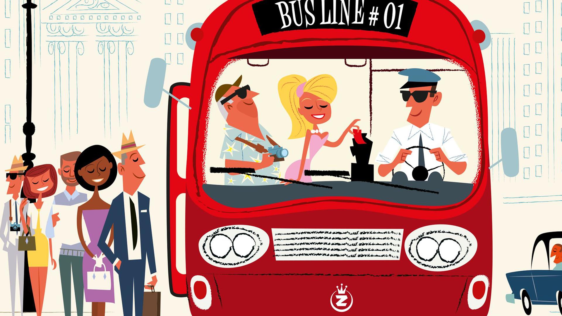Get on Board: New York & London artwork