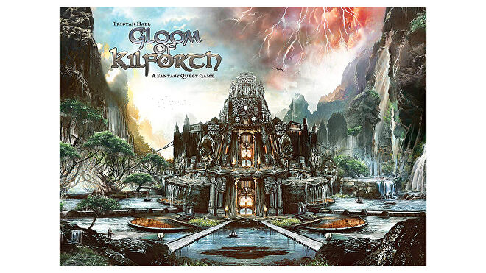 Gloom of Kilforth board game box