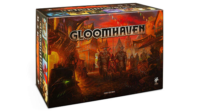Gloomhaven strategy board game box