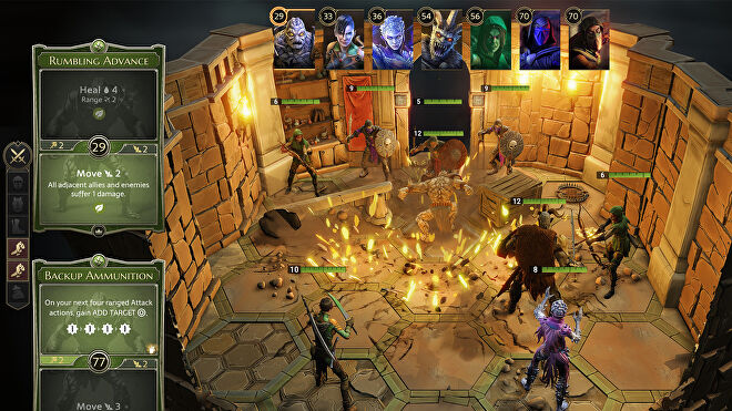 Gloomhaven digital board game screenshot