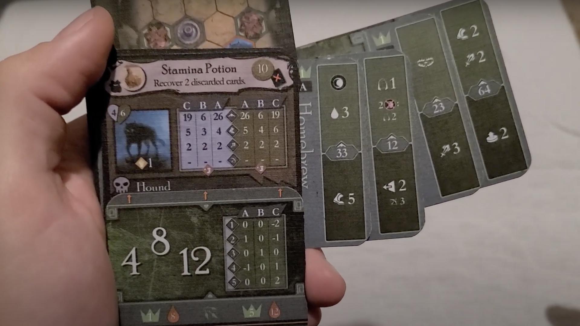 Gloomholdin' card game