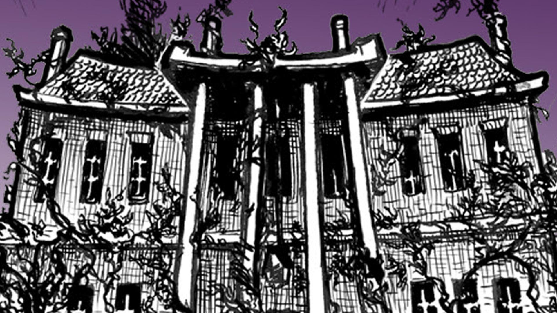 Gloomier: A Night at Hemlock Hall artwork