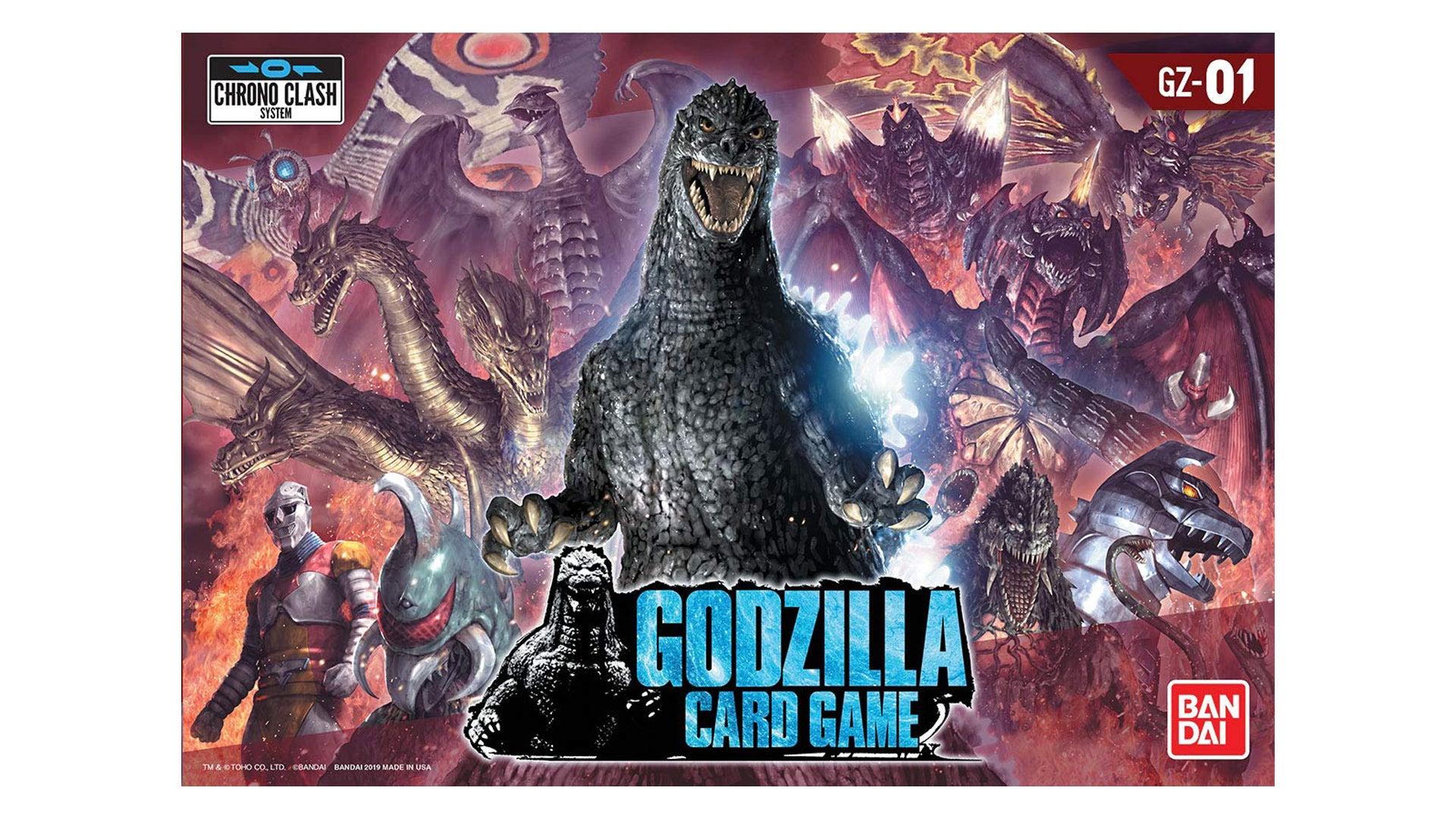 Godzilla Card Game movie board game box