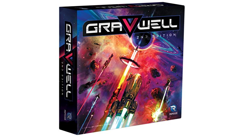 Gravwell: Second Edition board game box