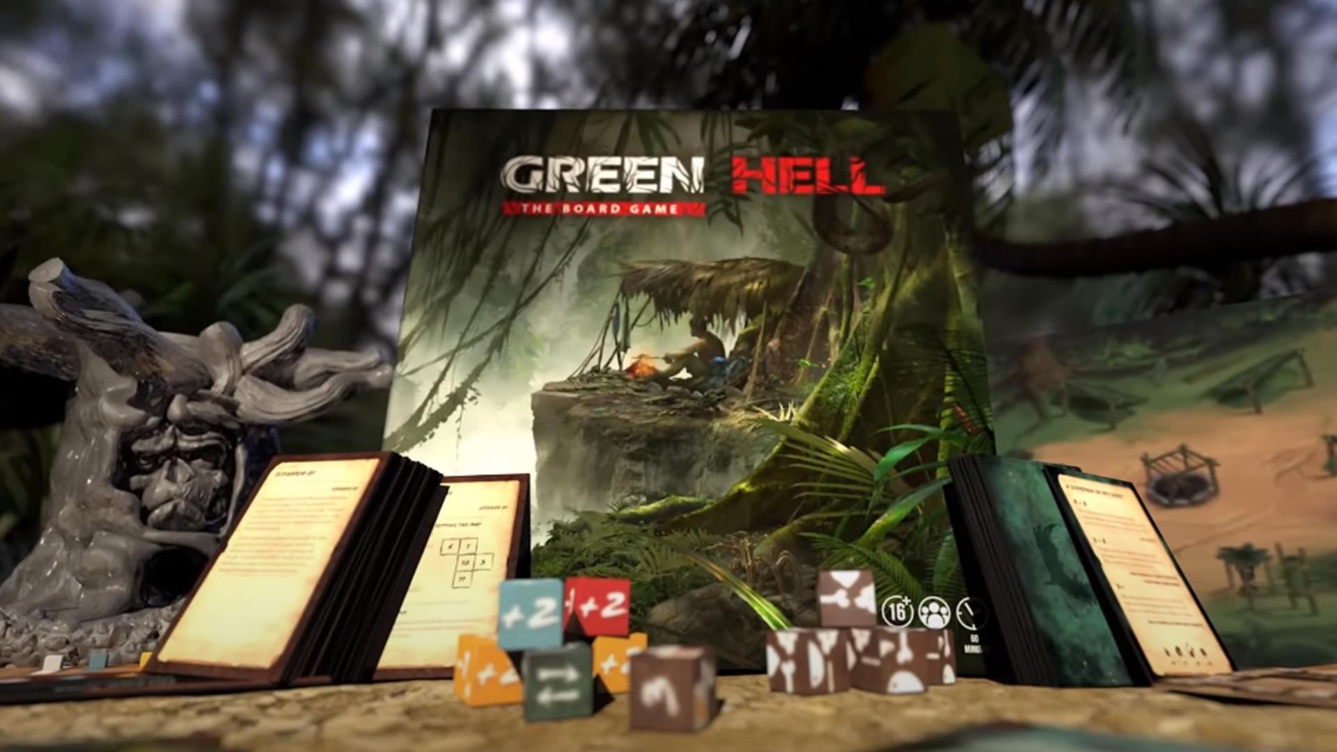 Green Hell: The Board Game trailer screenshot