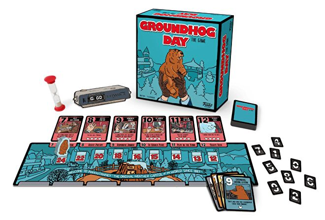 Groundhog Day: The Game layout