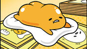 Gudetama: The Tricky Egg Card Game board game artwork