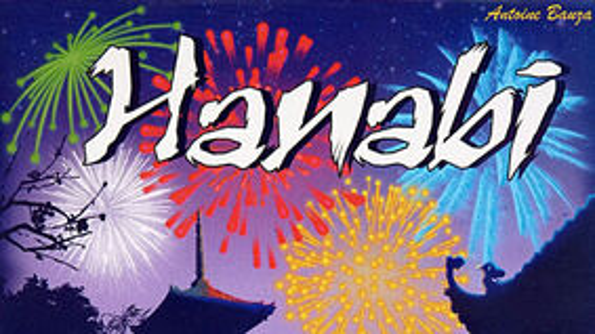 Hanabi board game artwork