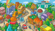 Image for Happy City is a simple but sweet blend of Splendor and Machi Koro that'll put a smile on your face