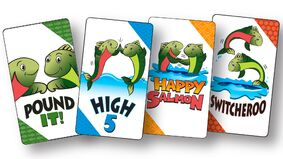"""Image for Energetic party game Happy Salmon is being re-released """"with an Exploding Kittens twist"""" after acquisition"""