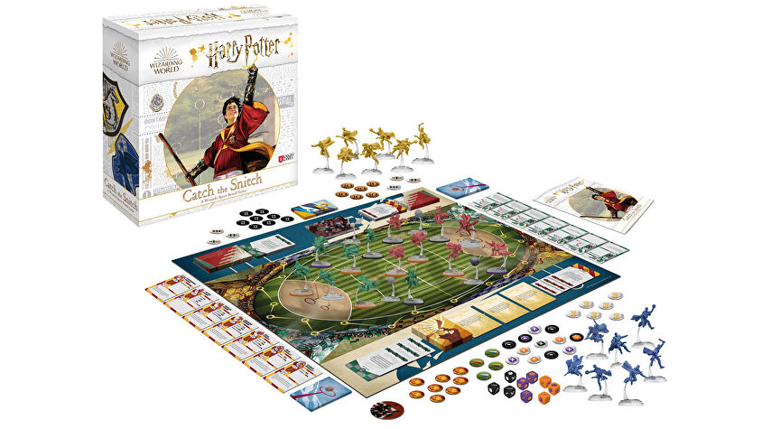 Harry Potter: Catch the Snitch board game layout