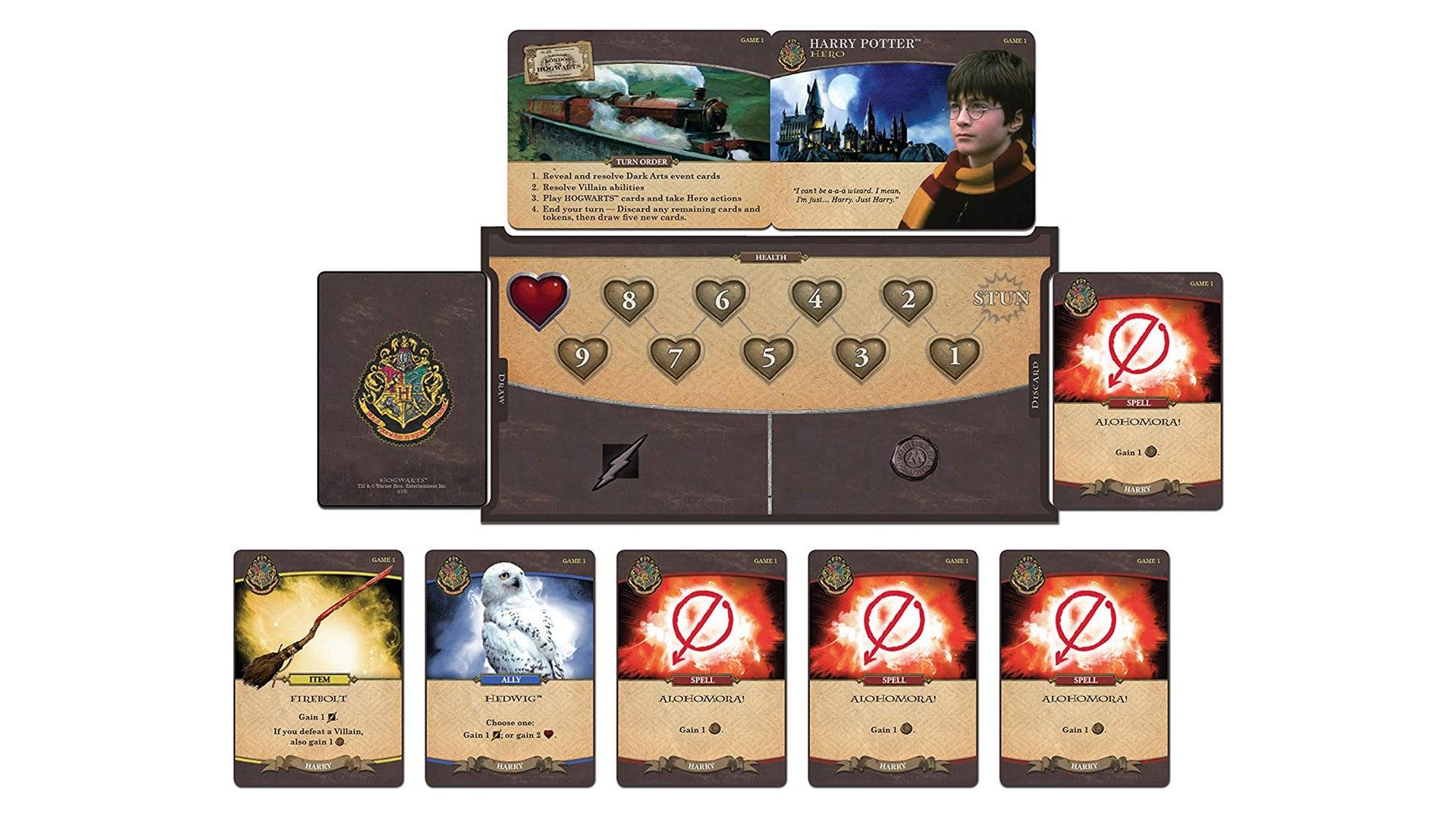 Harry Potter: Hogwarts Battle board gameHarry