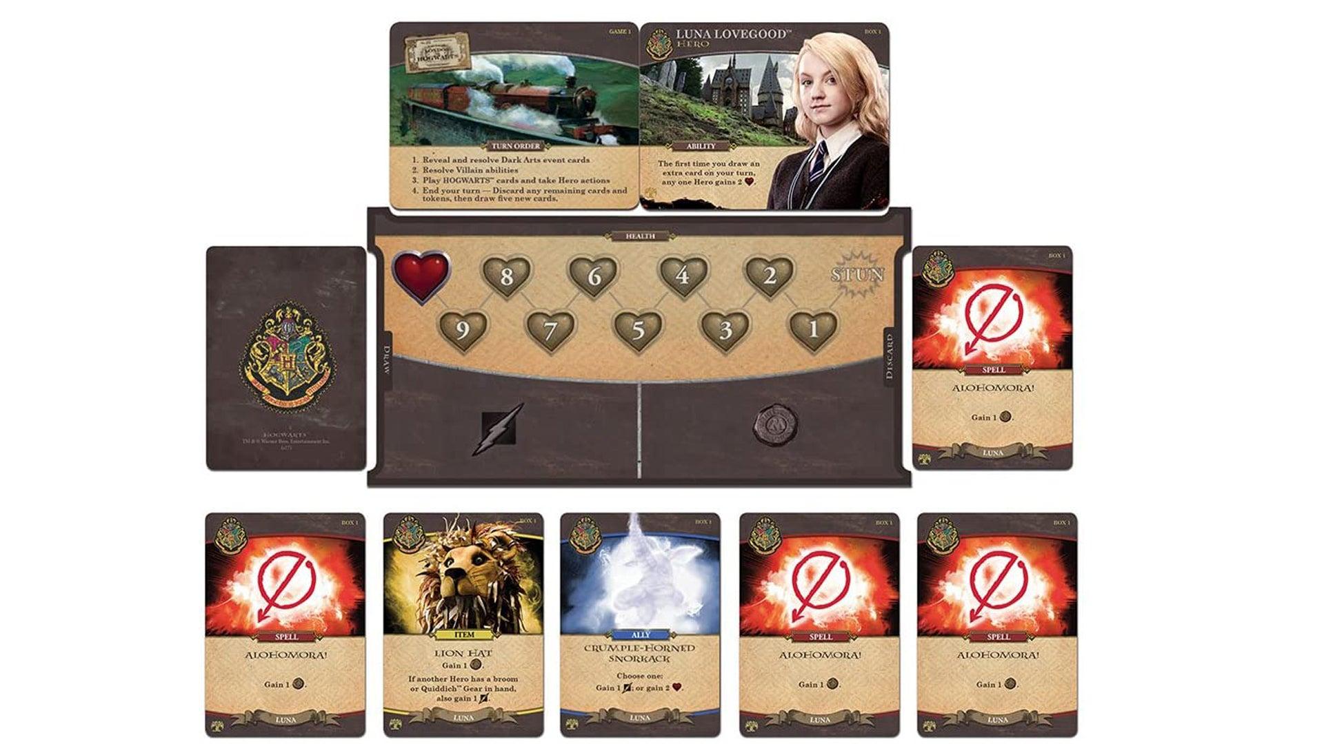 Harry Potter: Hogwarts Battle board game Luna