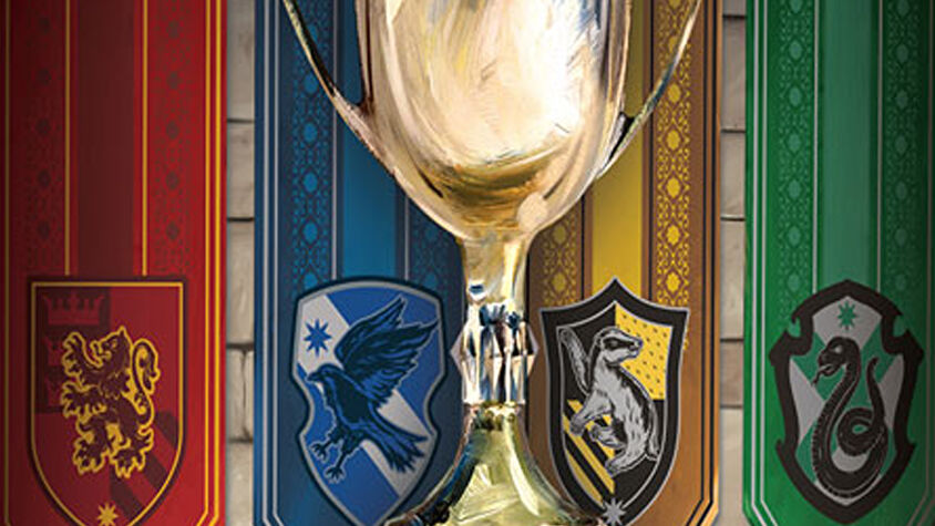 Harry Potter: House Cup Competition board game artwork