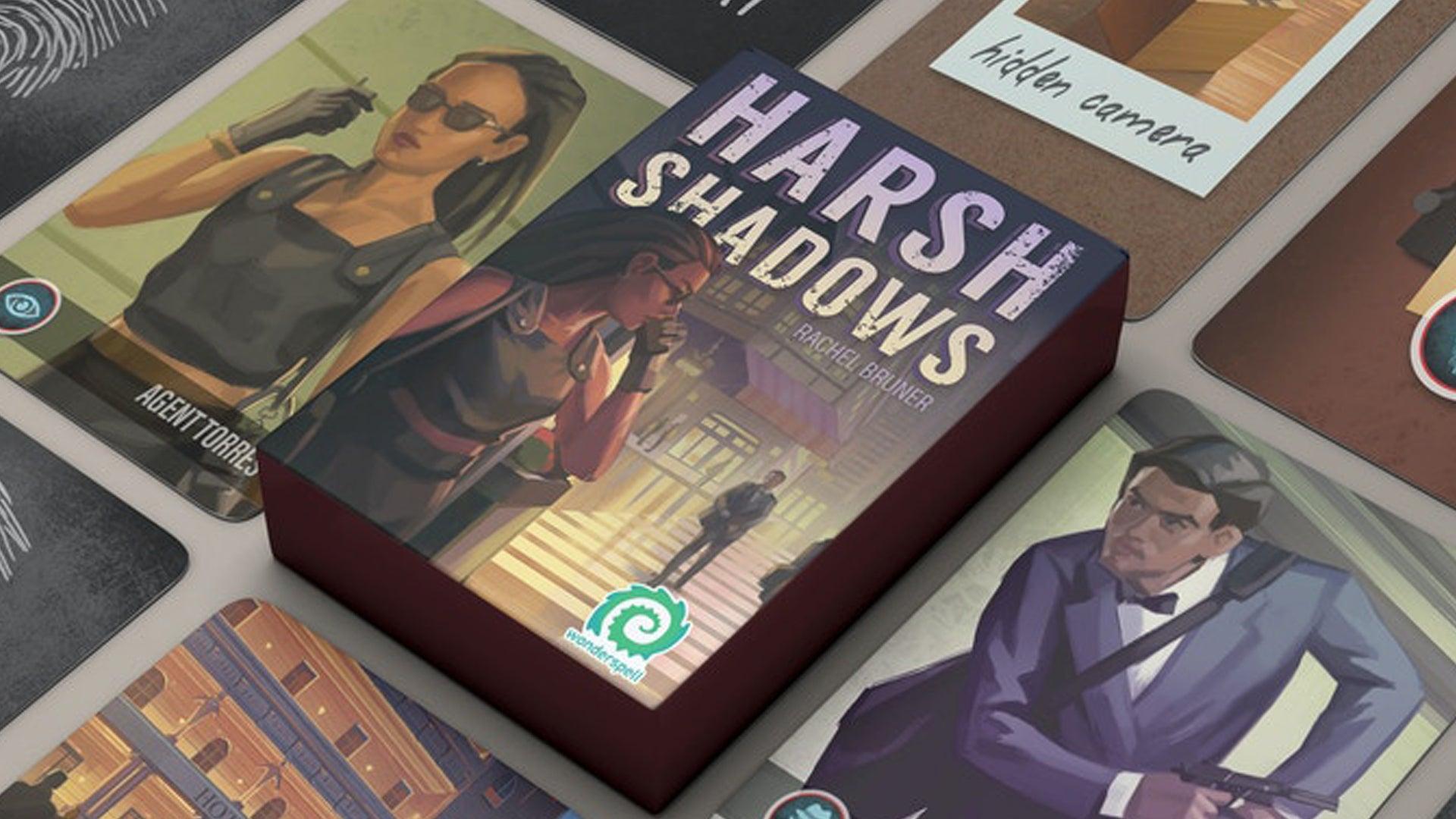 Harsh Shadows promo image