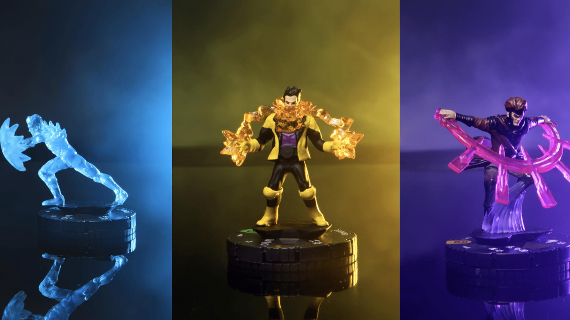 Heroclix House of X miniatures Iceman Gambit