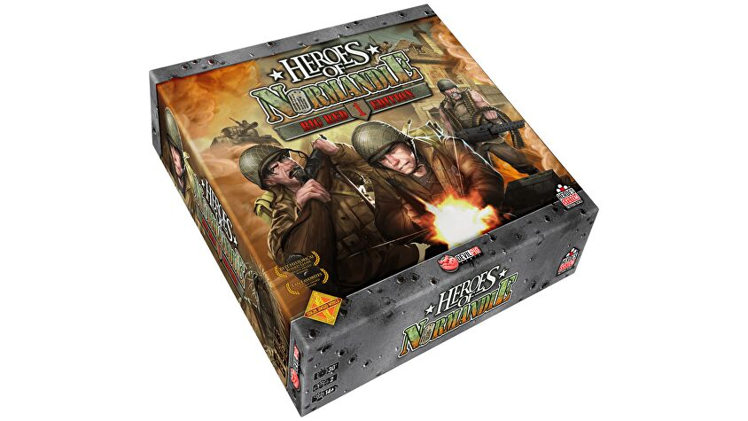 Heroes of Normandie: Big Red One Box