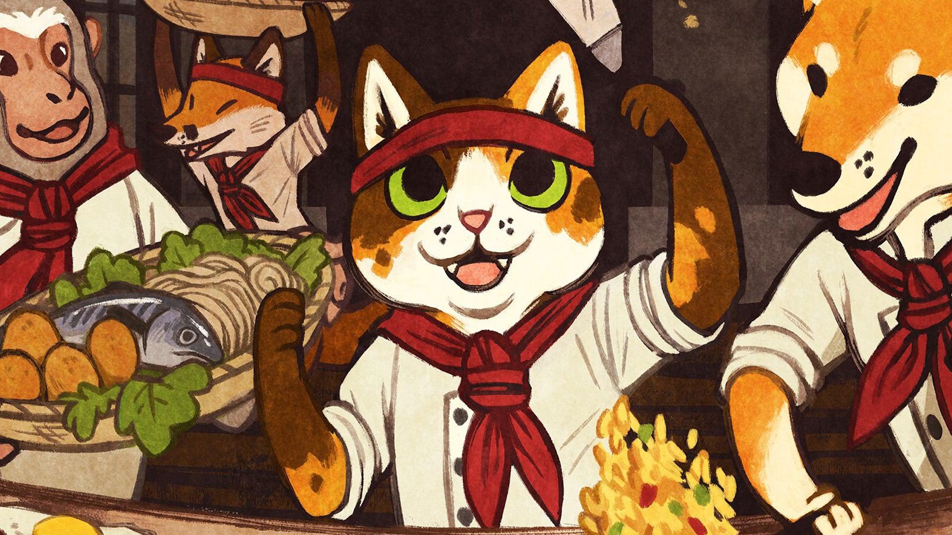 Hibachi board game artwork