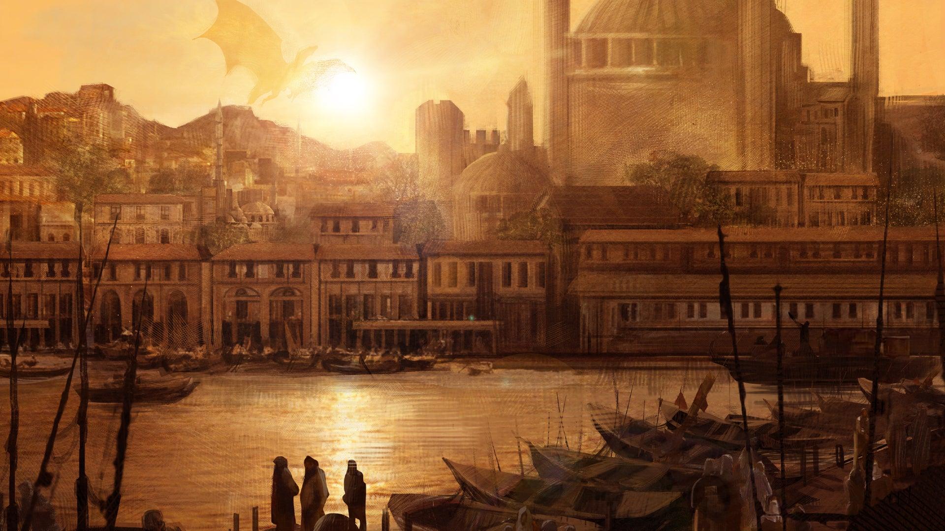 Historica Arcanum: The City of Crescent D&D 5E sourcebook artwork