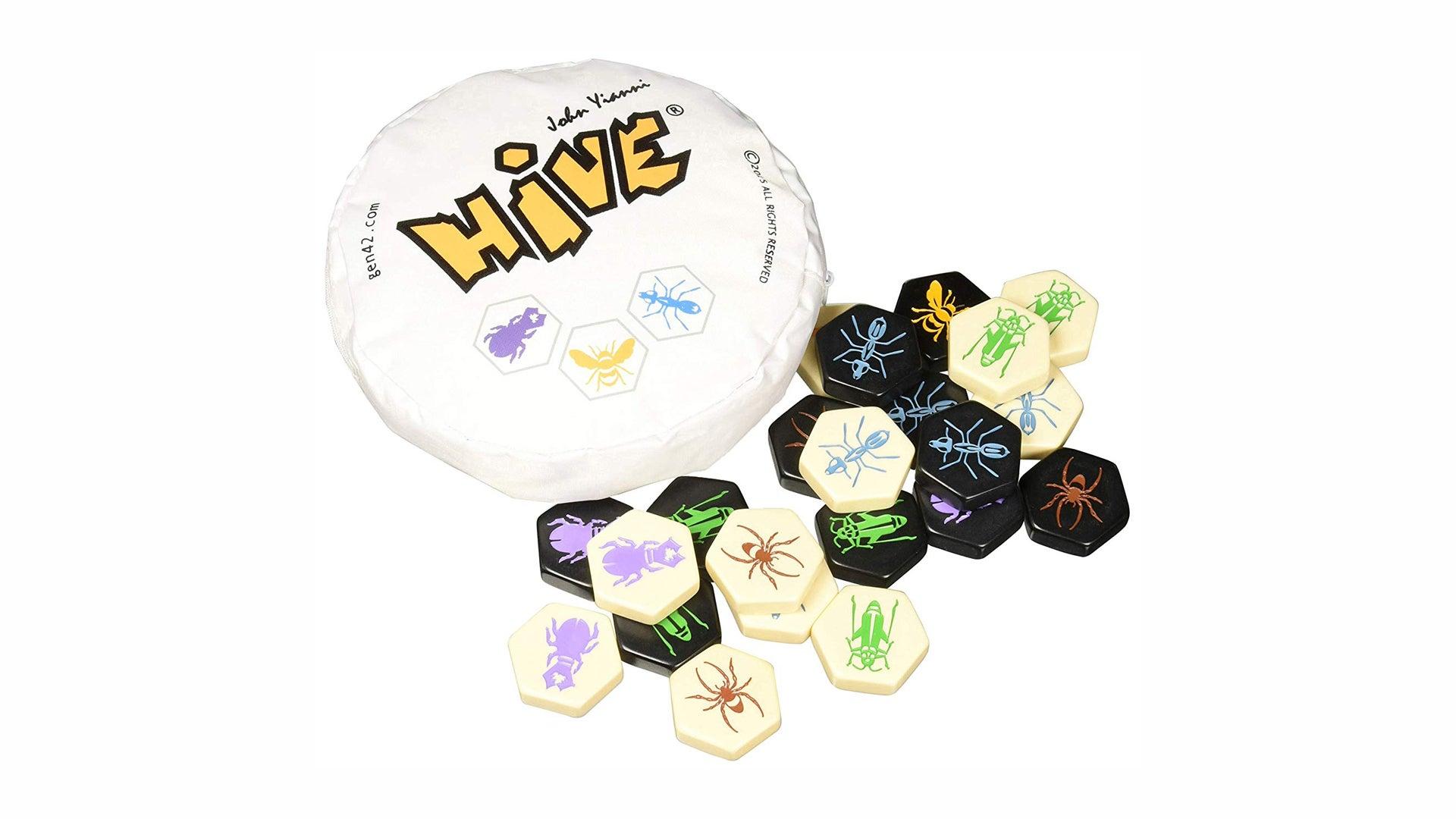 Hive board game box