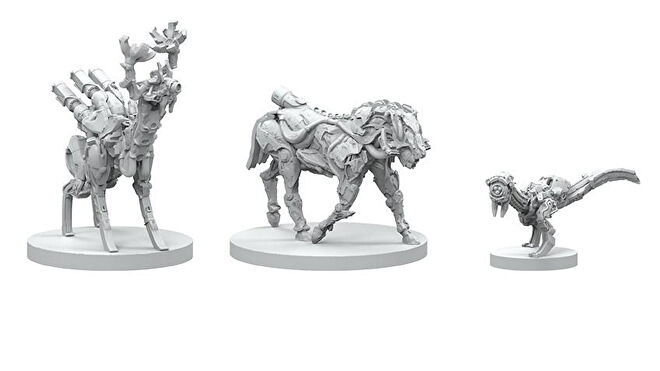 Horizon Zero Dawn: The Board Game miniatures