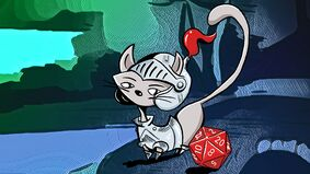 Image for How to RPG with Your Cat turns your feline friend into a furry d20