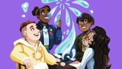 Image for Tabletop RPG Inspirisles will teach you sign language as you play