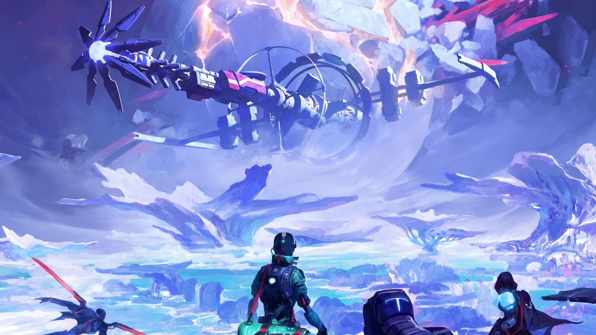 ISS Vanguard board game artwork