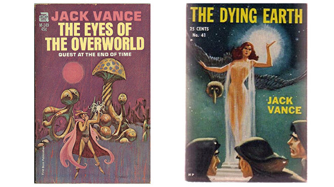 Jack Vance book covers