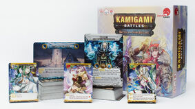 Kamigami Battles board game box contents