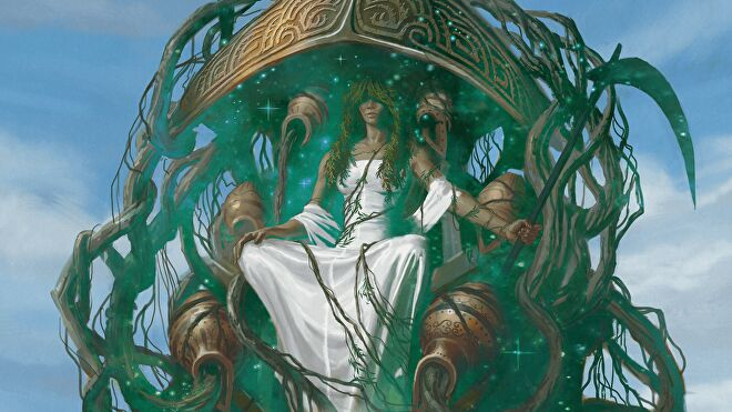 Karametra Mythic Odysseys of Theros tabletop roleplaying game sourcebook