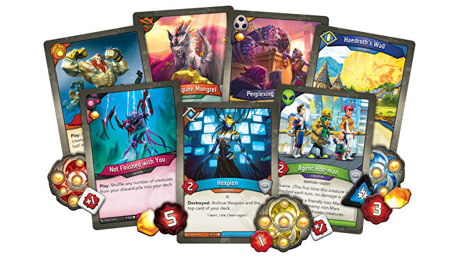 Keyforge: Age of Ascension card game cards