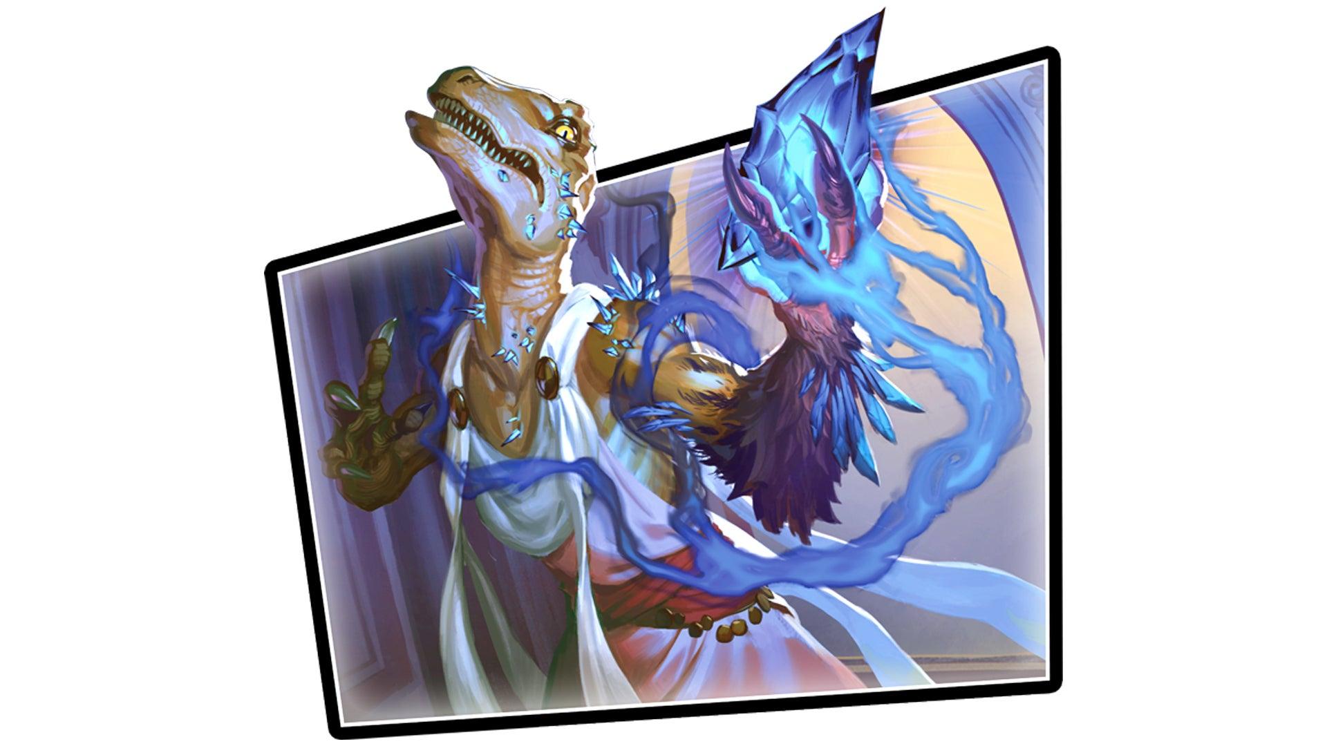 Keyforge Mass Mutation trading card game artwork free 2