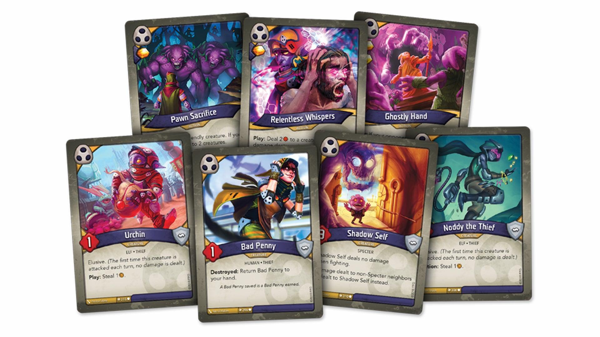 Keyforge Trading Card Game opinion piece card fan 2