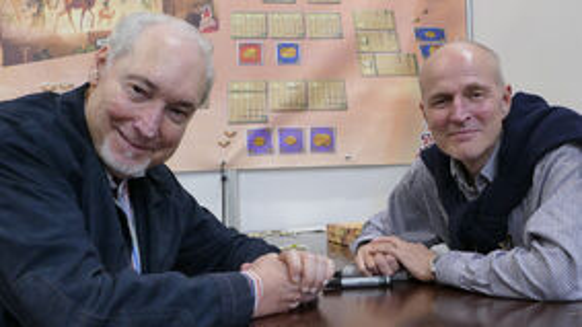Kiesling and Kramer board game designers