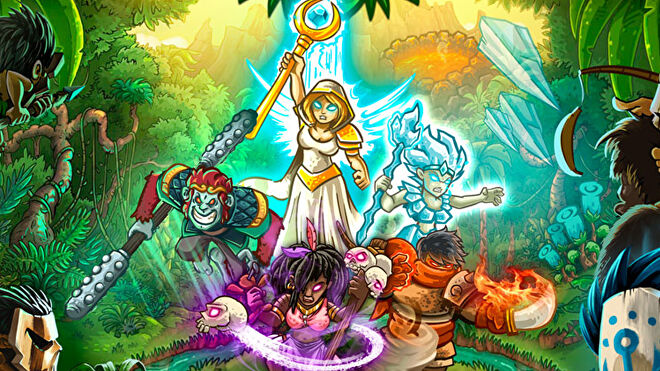 Kingdom Rush: Elemental Uprising box cover