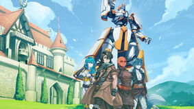 Image for Cowboy Bebop RPG studio's Knights of the Round: Academy blends My Hero Academia, Gundam and King Arthur