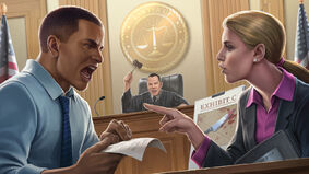 Lawyer Up board game artwork