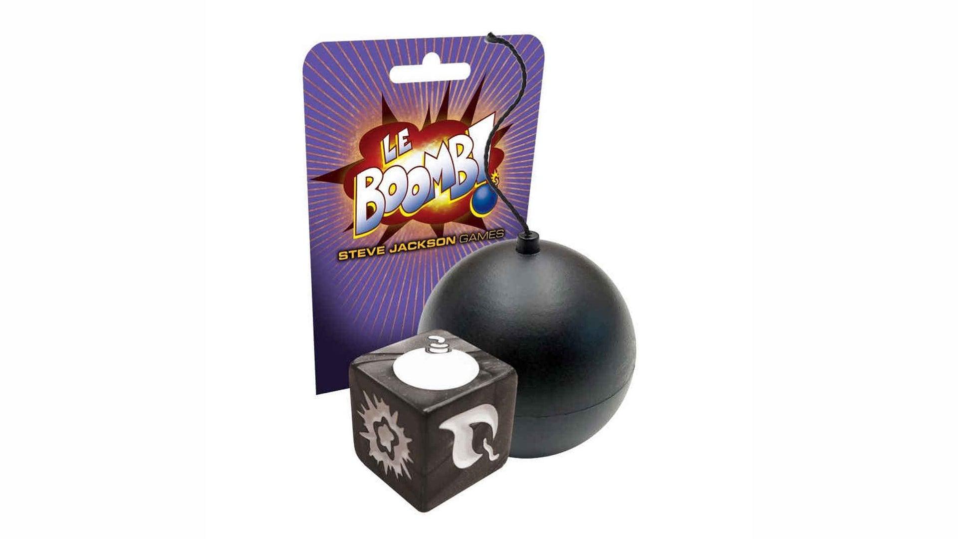 Le Boomb! board game artwork