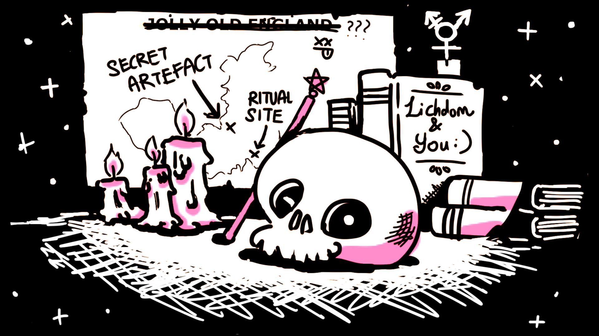 Lichcraft RPG artwork